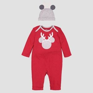 Disney Baby 2 Piece Coverall & Hat